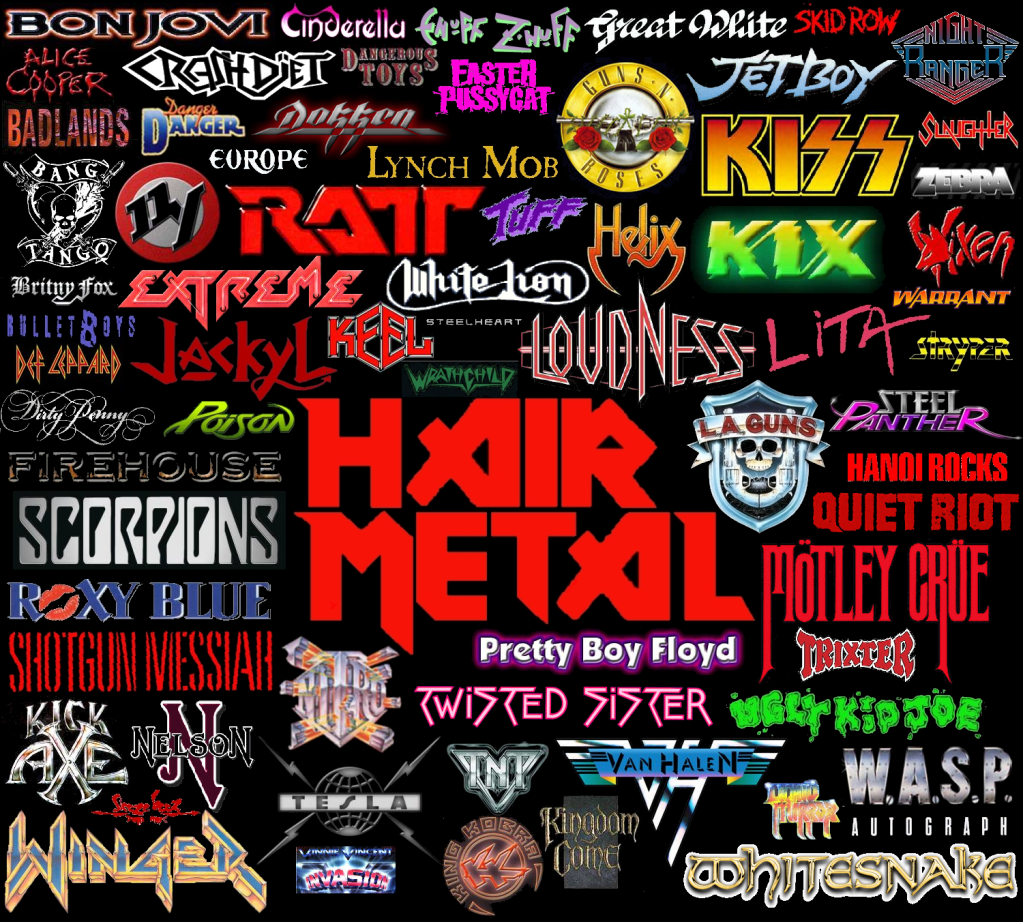listado grupos heavy:
